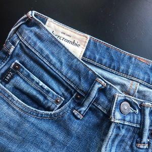 Abercrombie Kids super skinny denim jeans